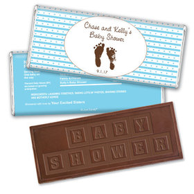 Sweet Impression Personalized Embossed Chocolate Bar Assembled