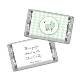 Cute Carriage Personalized Miniature Wrappers