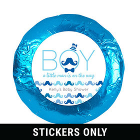 "Mustache Bash 1.25"" Sticker (48 Stickers)"