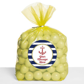 Nautical Personalized Cello Bags (Set of 30)