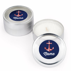 Nautical Personalized Candle (Set of 12)