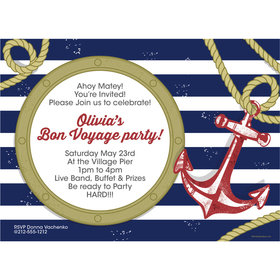 Nautical Personalized Invitation