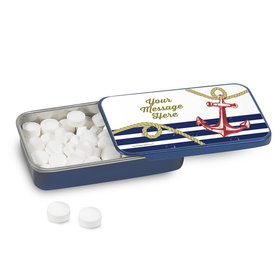 Personalized Nautical Mint Tin (12 Pack)