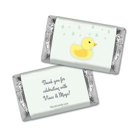 Rain Showers Personalized Miniature Wrappers