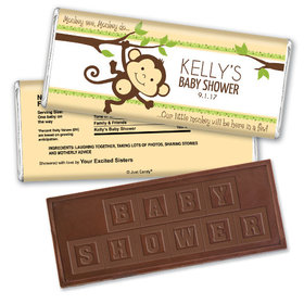 Swing on In Personalized Embossed Chocolate Bar Assembled