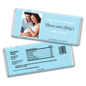 Perfectly Patterned Personalized Candy Bar - Wrapper Only