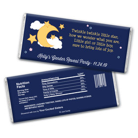 Twinkle Twinkle Personalized Candy Bar - Wrapper Only