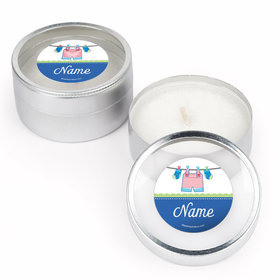 Shower with Love Boy Personalized Candle (Set of 12)