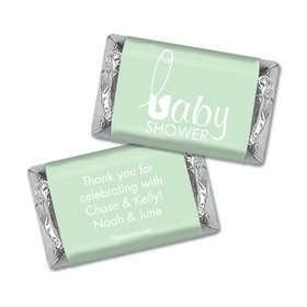 Baby Pins Personalized Miniature Wrappers