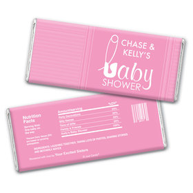Baby Pins Personalized Candy Bar - Wrapper Only