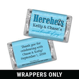 HEREHEIS Bundle of Joy Personalized Miniature Wrappers