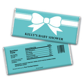 Bow Baby Personalized Candy Bar - Wrapper Only