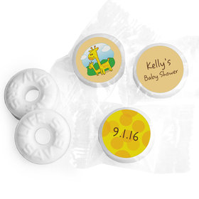 Baby Spots Personalized Baby Shower LIFE SAVERS Mints Assembled