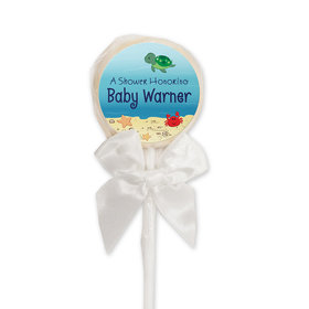 Baby Shower Personalized Lollipop Ocean Bubbles (24 Pack)