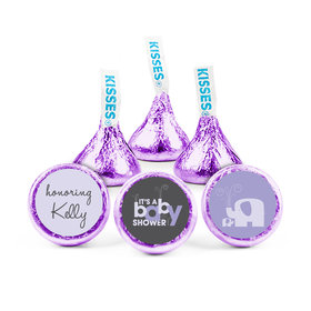 Personalized Baby Shower Baby Elephant Hershey's Kisses (50 pack)