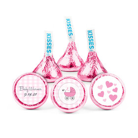 Personalized Baby Shower Cute Carriage Hershey's Kisses (50 pack)