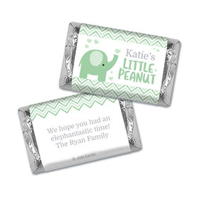Here Comes the Little Peanut Personalized Miniature Wrappers