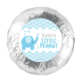 "Personalized Little Peanut Baby Shower 1.25"" Stickers (48 Stickers)"