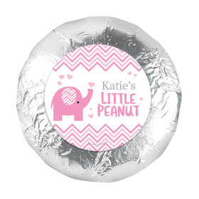 """Personalized Little Peanut Baby Shower 1.25"""" Stickers (48 Stickers)"""