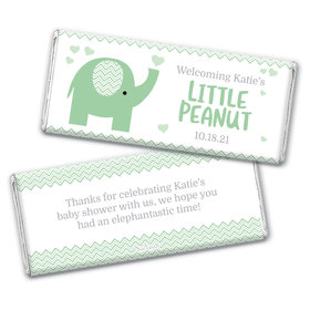 Baby Shower Personalized Chocolate Bar Little Peanut