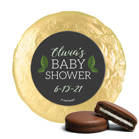 Personalized Little Leaves of Love Baby Shower Milk Chocolate Covered Oreos