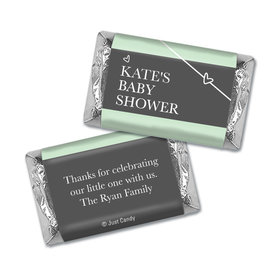 Here Comes the Greatest Gift Personalized Miniature Wrappers