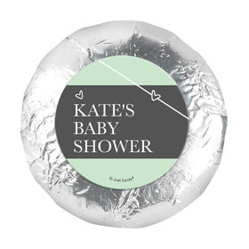 """Personalized Greatest Gift Baby Shower 1.25"""" Stickers (48 Stickers)"""