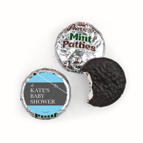 Personalized Pearson's Mint Patties- Baby Shower Greatest Gift