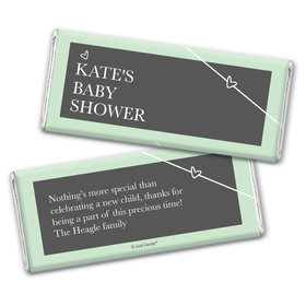Baby Shower Personalized Chocolate Bar Greatest Gift