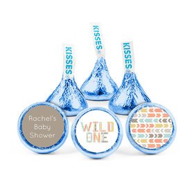 Personalized Baby Shower Wild One Hershey's Kisses (50 pack)