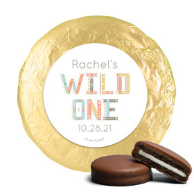 Personalized Wild One Baby Shower Milk Chocolate Covered Oreos (24 Pack)