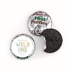 Personalized Pearson's Mint Patties- Baby Shower Wild One