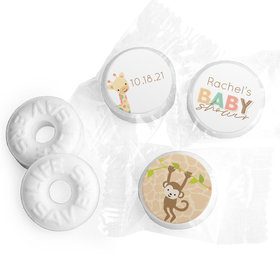 Wild Personalized Baby Shower LIFE SAVERS Mints Assembled