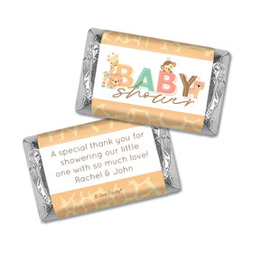 Here Comes the Safari Snuggles Personalized Miniature Wrappers