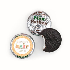 Personalized Pearson's Mint Patties- Baby Shower Safari Snuggles
