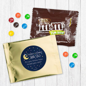 Personalized Baby Shower Little Star - Milk Chocolate M&Ms