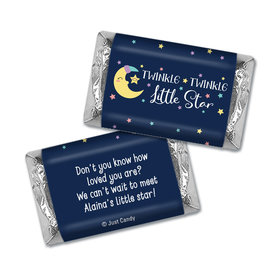 Here Comes the Little Star Personalized Miniature Wrappers