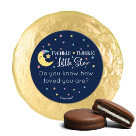 Personalized Little Star Baby Shower Milk Chocolate Covered Oreos