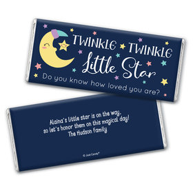 Here Comes the Little Star Personalized Chocolate Bar Wrappers