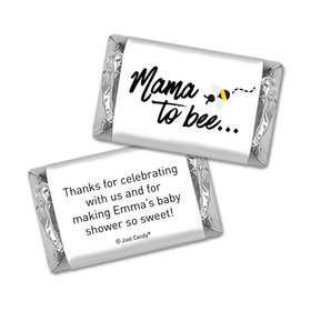 Here Comes the Mama to bee Personalized Miniature Wrappers