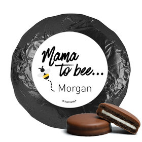 Personalized Mama to Bee Baby Shower Milk Chocolate Covered Oreos