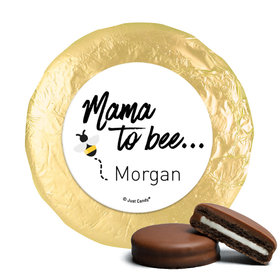 Personalized Mama to Bee Baby Shower Milk Chocolate Covered Oreos (24 Pack)