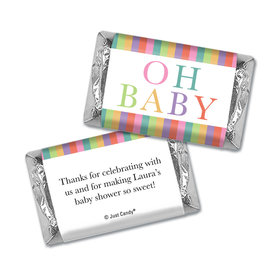 Here Comes the Happy Baby Personalized Miniature Wrappers