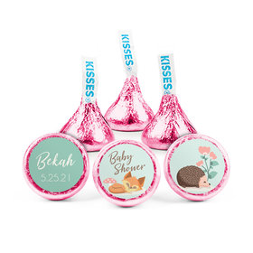 Personalized Baby Shower Woodland Buddies Hershey's Kisses (50 pack)