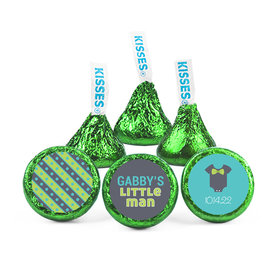 Personalized Baby Shower Little Man Hershey's Kisses (50 pack)