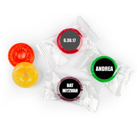 New Woman Personalized Bat Mitzvah LifeSavers 5 Flavor Hard Candy Assembled
