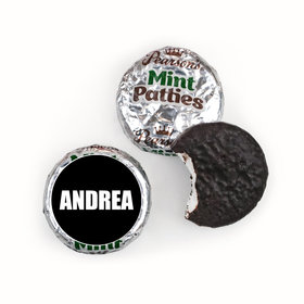 Bar & Bat Mitzvah Personalized Pearson's Mint Patties Block Name