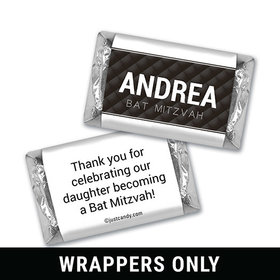 Sparkling Mitzvah Personalized Miniature Wrappers