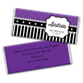 Glamorous Teen Personalized Candy Bar - Wrapper Only