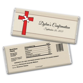Divine Day Personalized Candy Bar - Wrapper Only